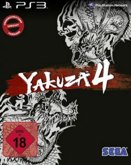 Yakuza 4 - Kuro Edition - Steelbook