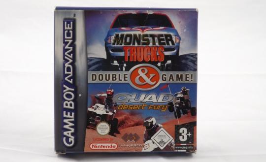 Monster Trucks & Quad Desert Fury