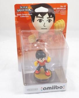 Nintendo Amiibo Super Smash Bros. No. 48 Mii Brawler Wii U / New3DS